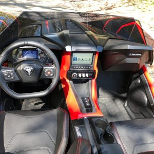 2020 Polaris Slingshot Interior
