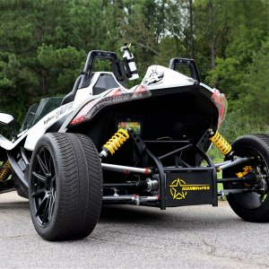 Polaris Slingshot 4 Wheel Conversion Kit